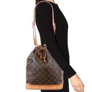 0076808a01 ... Louis Vuitton monogram Noe Bucket Bag ...